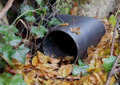 Igeltunnel aus Stahlrohr